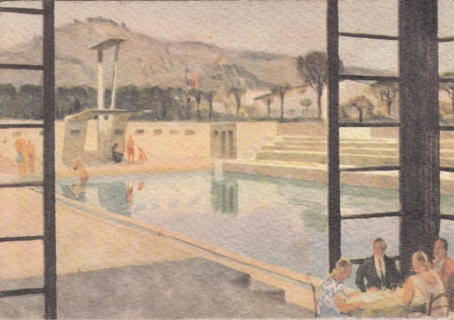 Inviate foto d 39 epoca della piscina della mostra d for Piscina mostra d oltremare